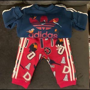 Infants Adidas jogging suit
